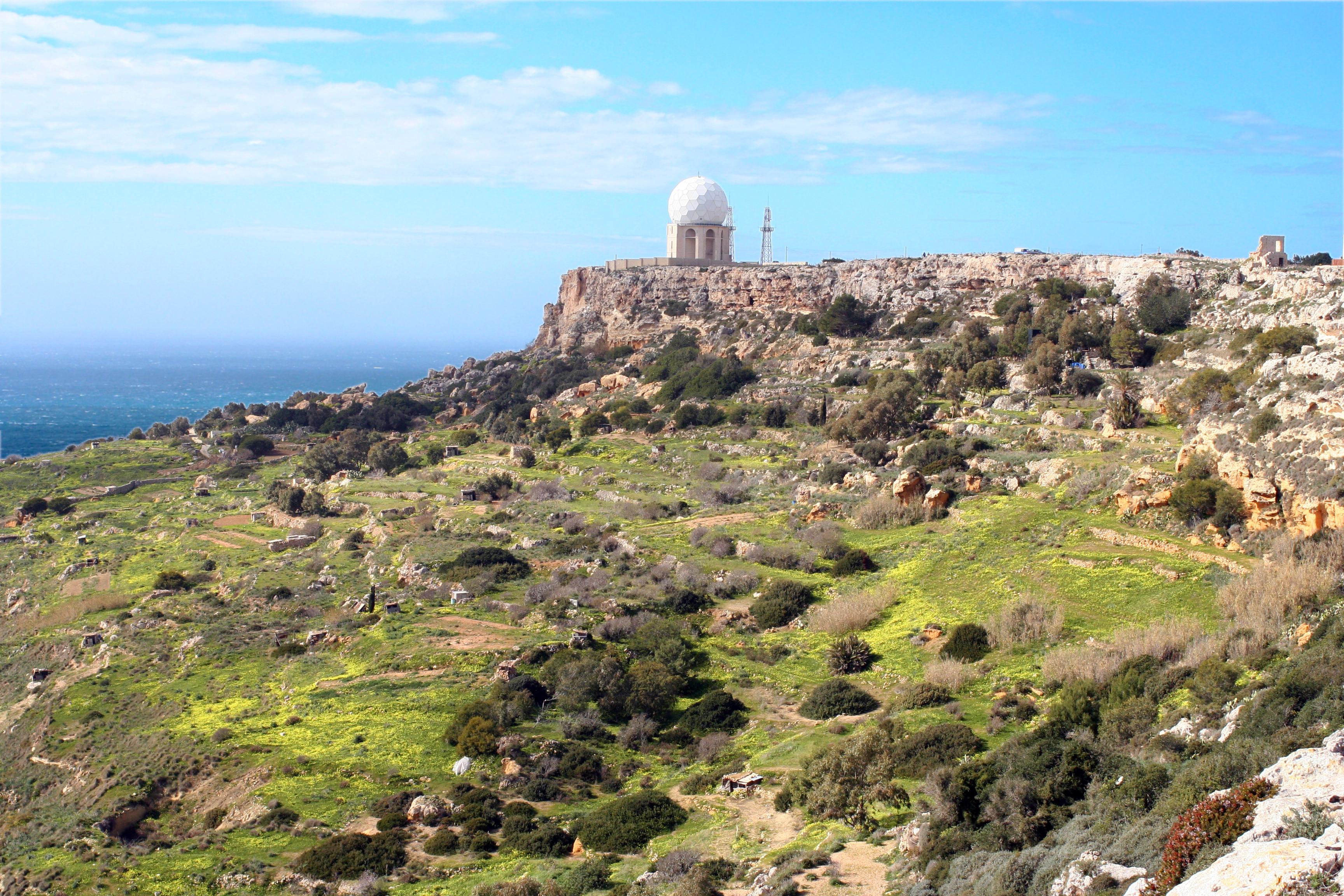 Die Dingli Cliffs, höchster Punkt des Archipels