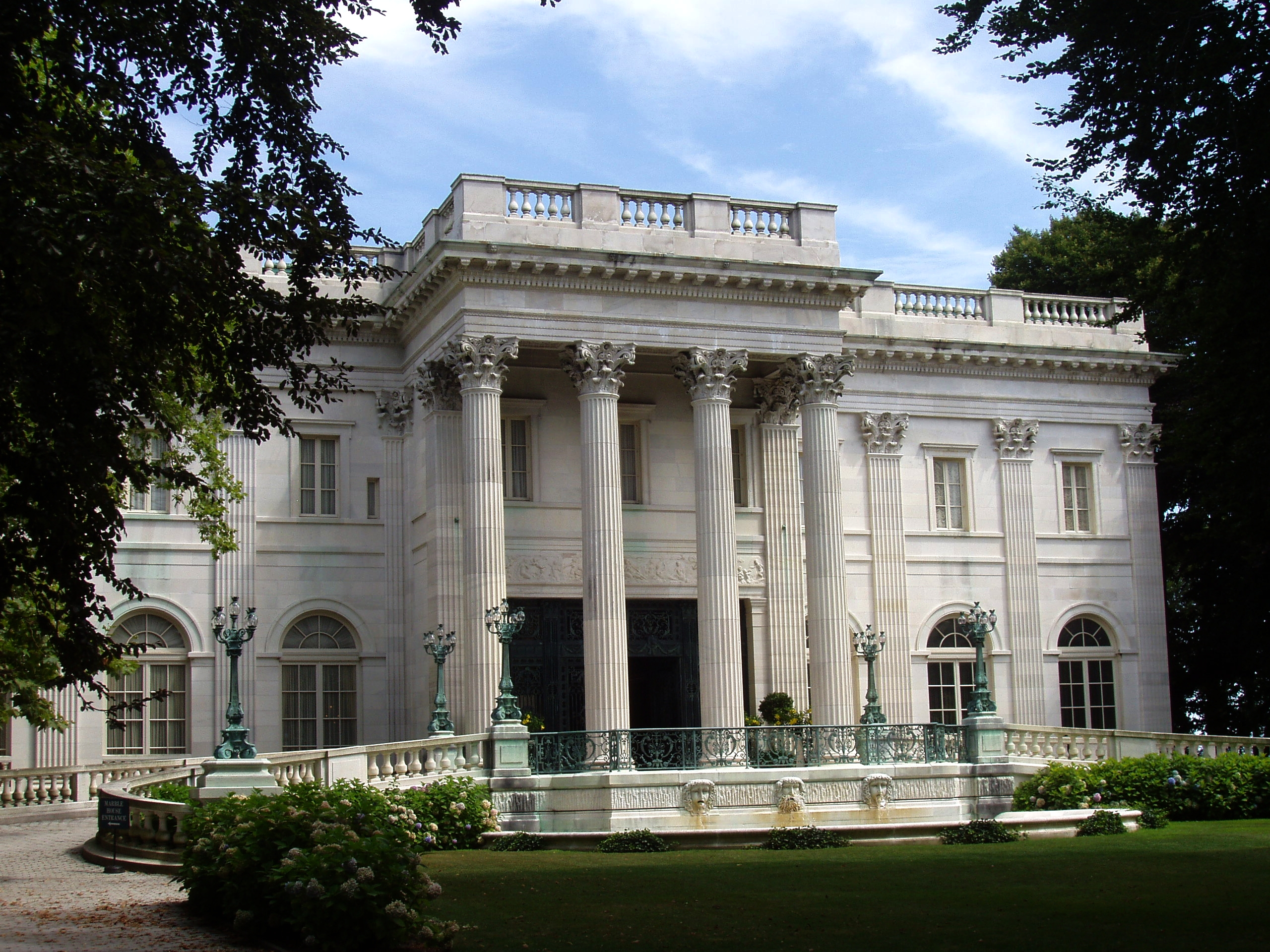File:Marble_House,_Newport,_Rhode_Island on Greek Revival House Plans