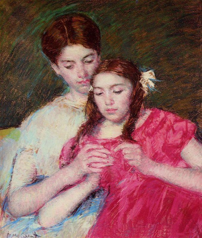 Crocheting Lessons : El Delicado Arte Impresionistas De Mary Cassatt Arte - Todo-Mail