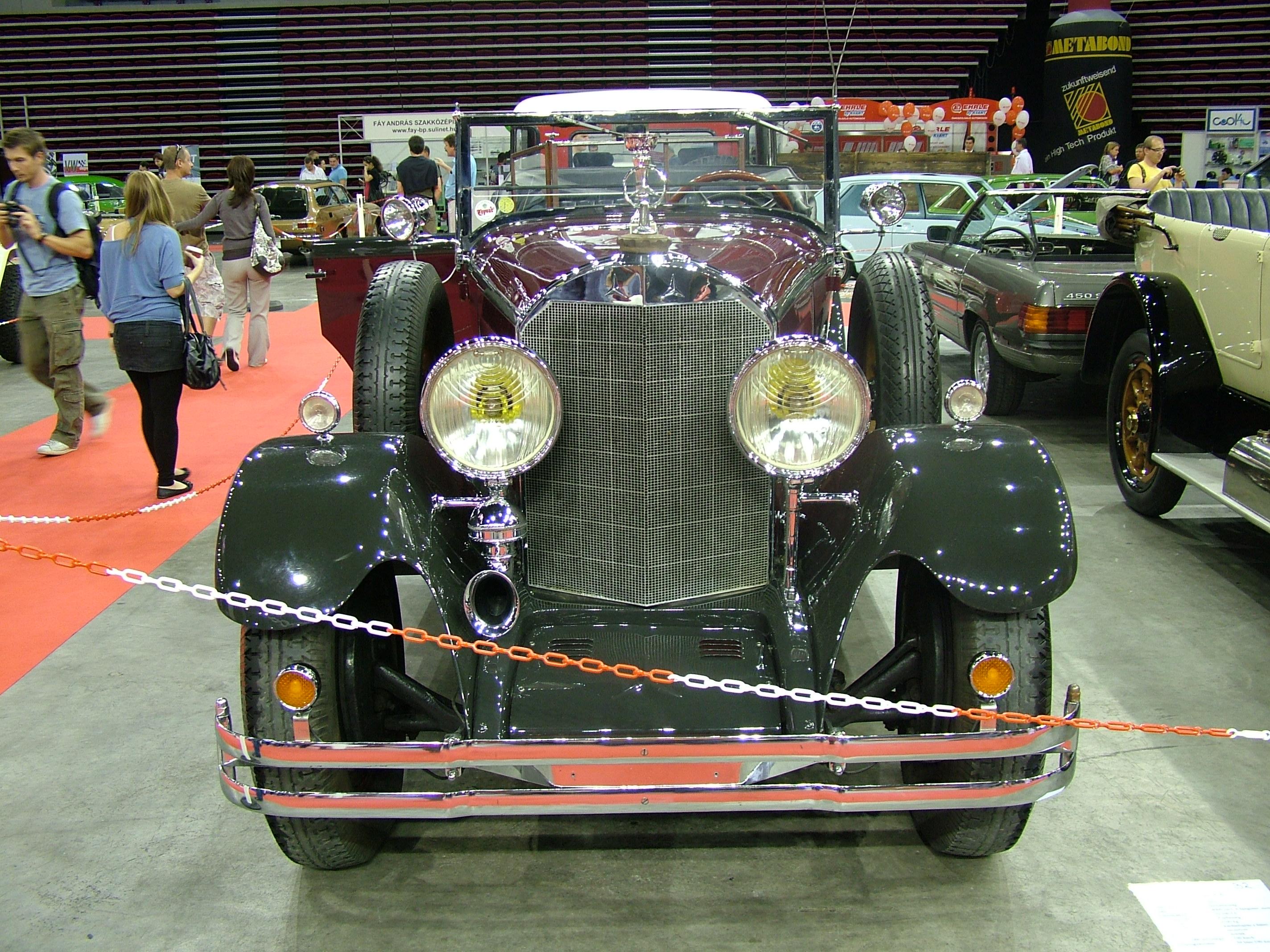 File:Mercedes-Benz 400K, 1926 - Flickr - granada turnier ...