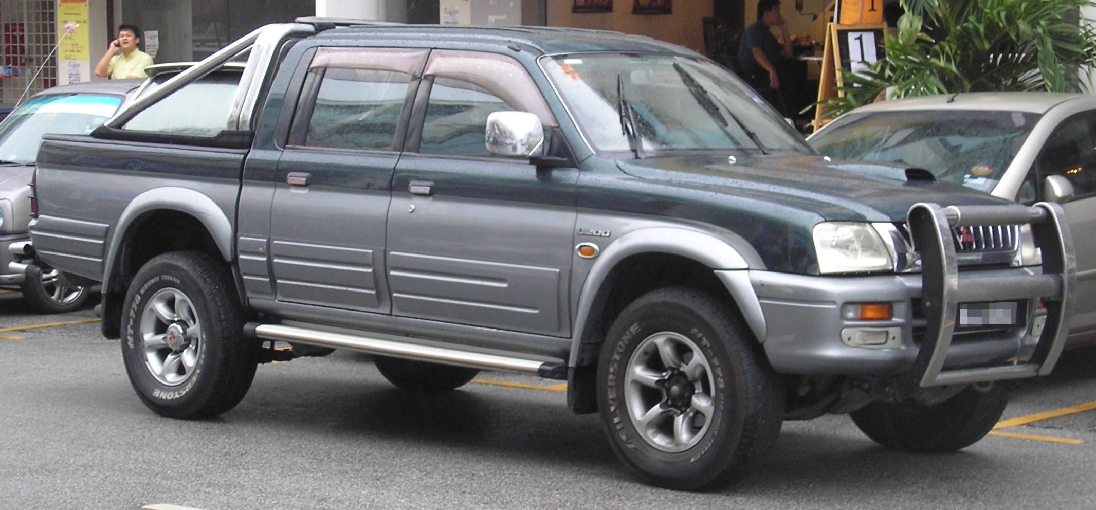 camioneta mitsubishi l200 2001: