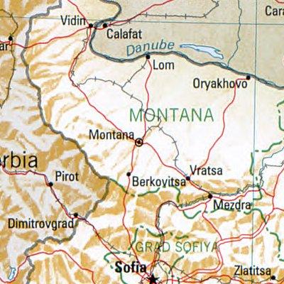 File Montana Bulgaria 1994 Cia Map Jpg Wikimedia Commons