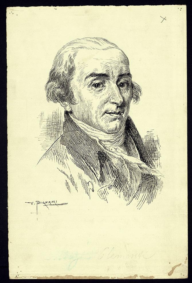 Portrait of Muzio Clementi, composer (1752-1832), before 1829.