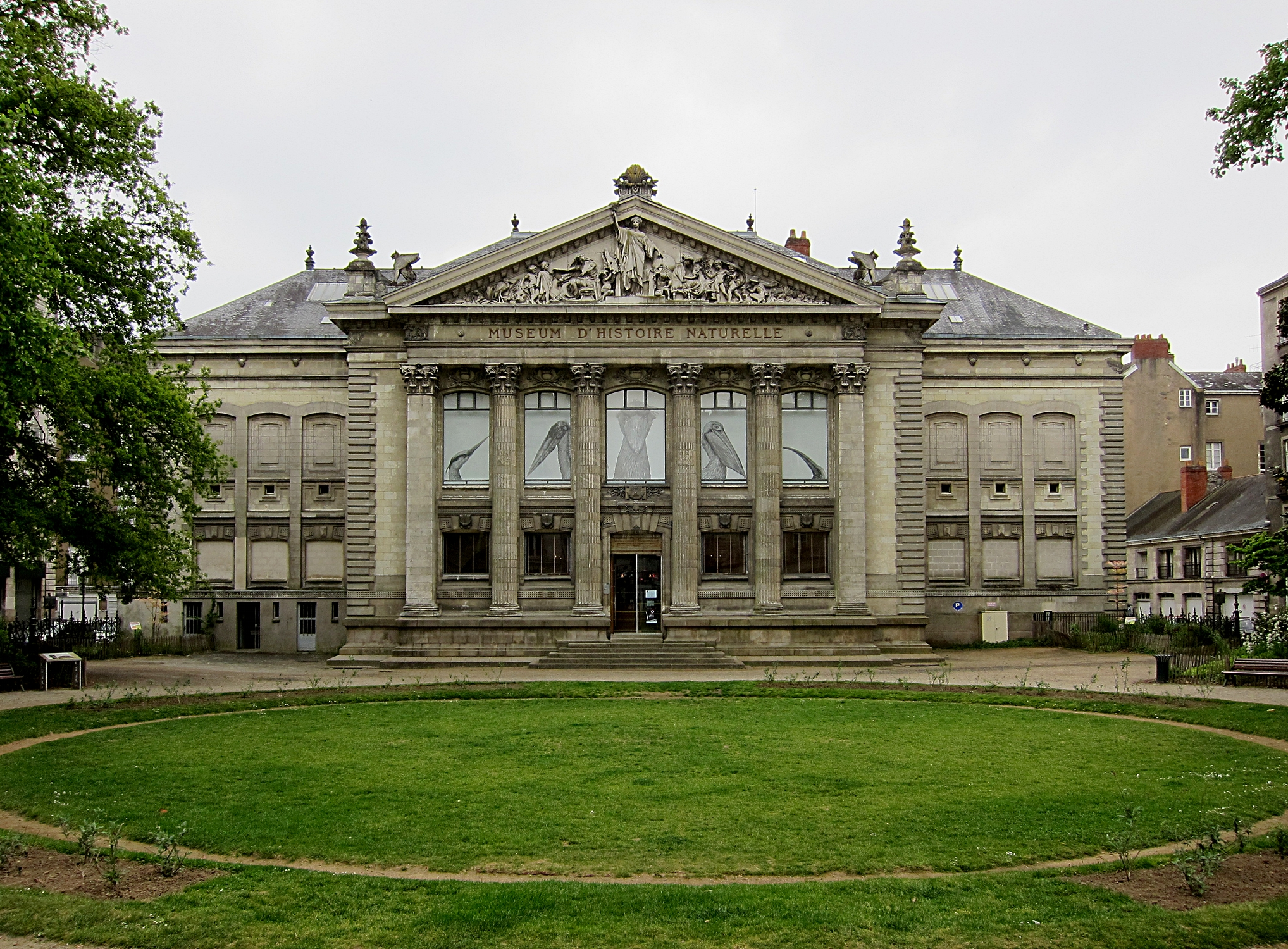 File nantes museum histoire naturelle jpg wikimedia commons for Histoire des jardins wikipedia