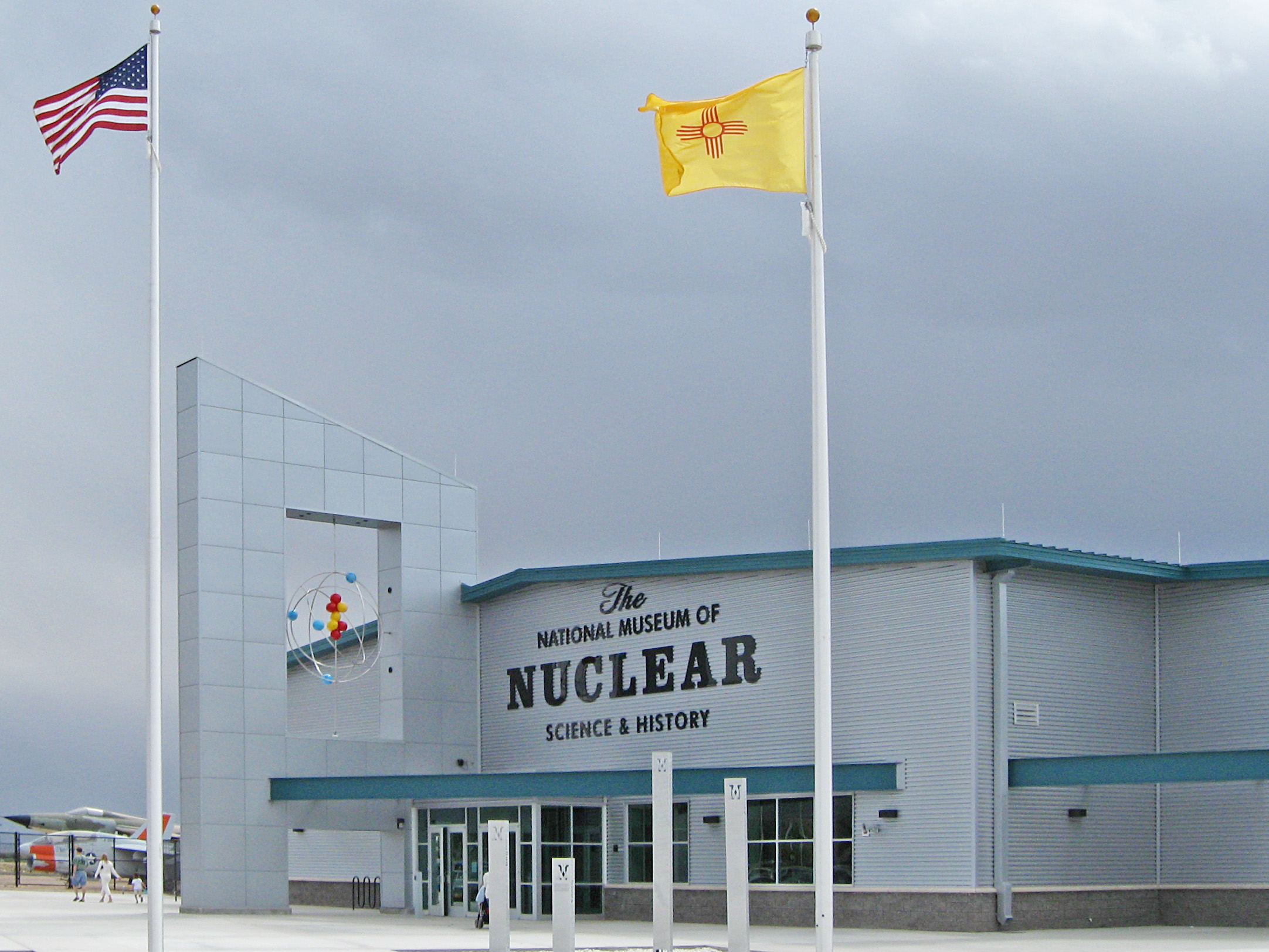 File national museum of nuclear science and history entrance