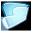 Noia 64 filesystems folder cyan.png