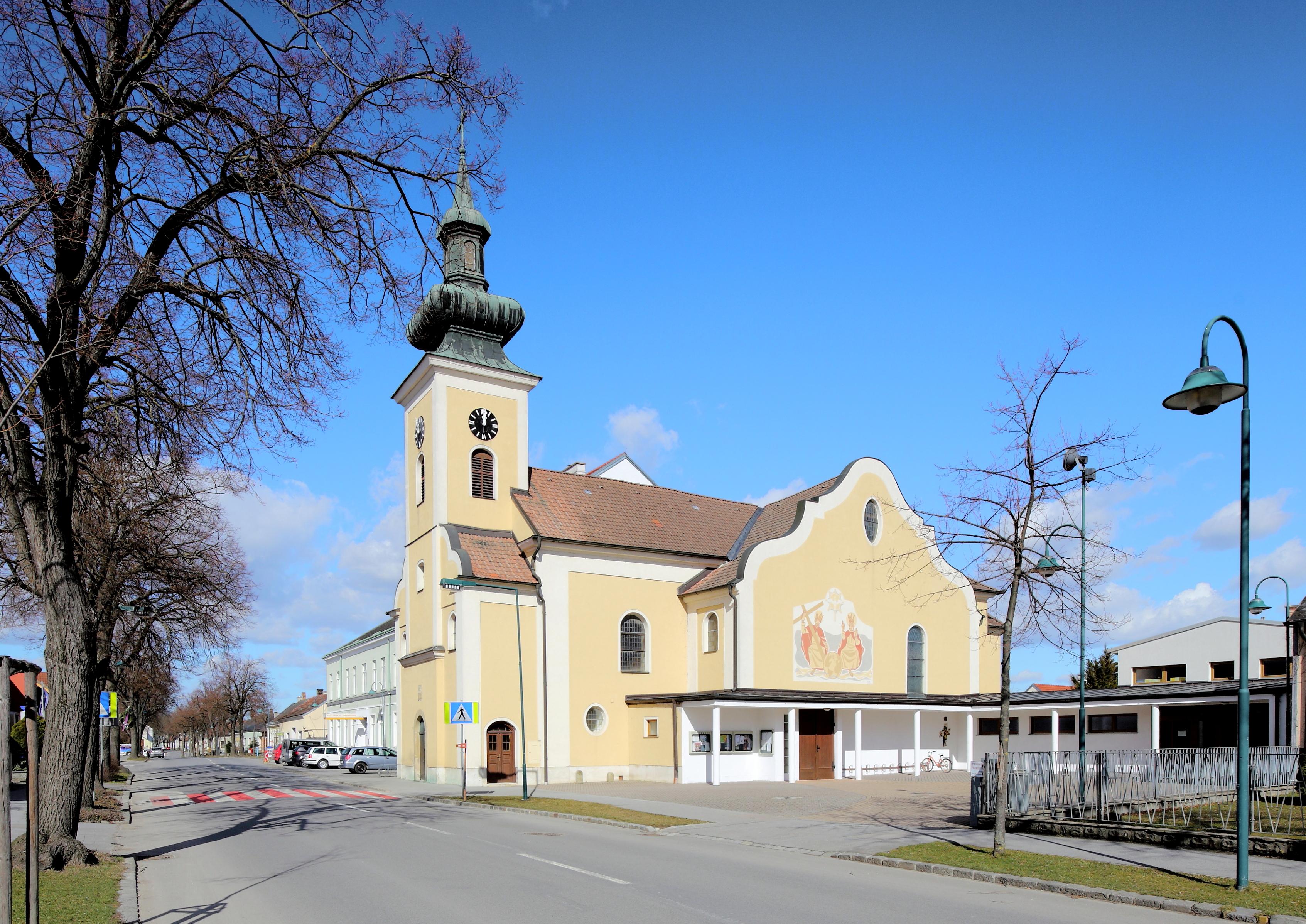 Datei:Obersdorf (Wolkersdorf) - Kirche.JPG - Wikipedia
