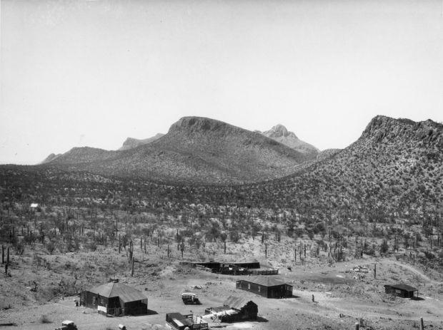 Old Yuma Mine Tucson Mountains Arizona Circa 1920
