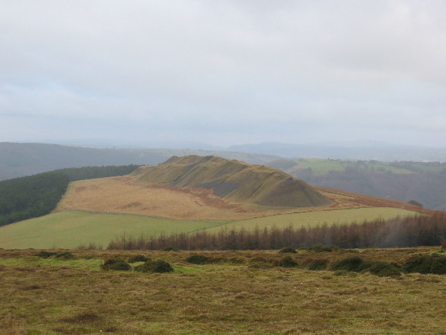 Old spoil heaps above Machen - geograph.org.uk - 88189