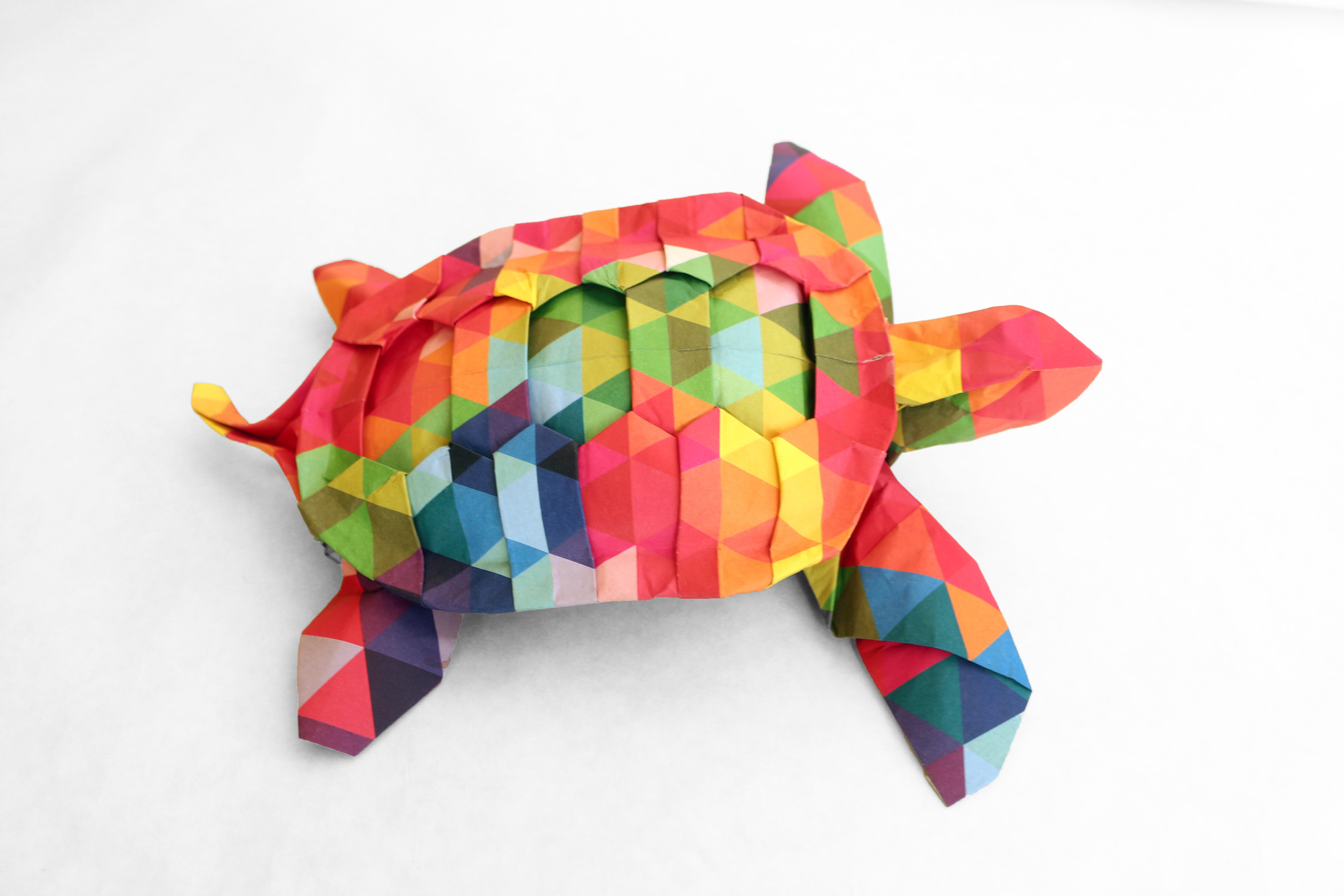 Fileorigami rainbow sea turtleg wikimedia commons fileorigami rainbow sea turtleg jeuxipadfo Image collections