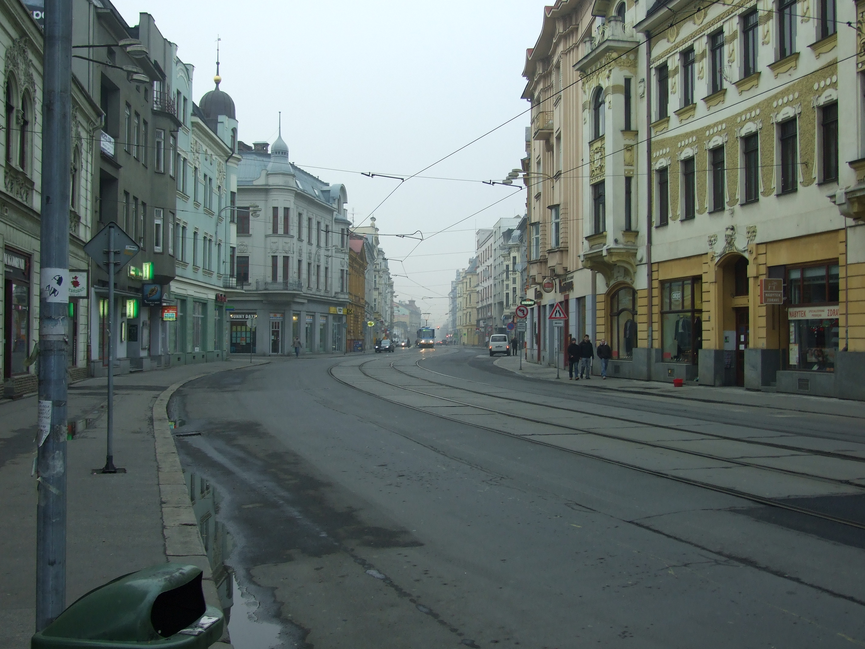 Ostrava nadrazni ulice seriell