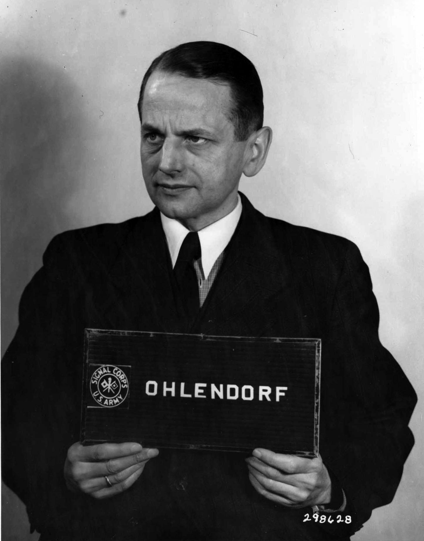 Otto Ohlendorf Net Worth
