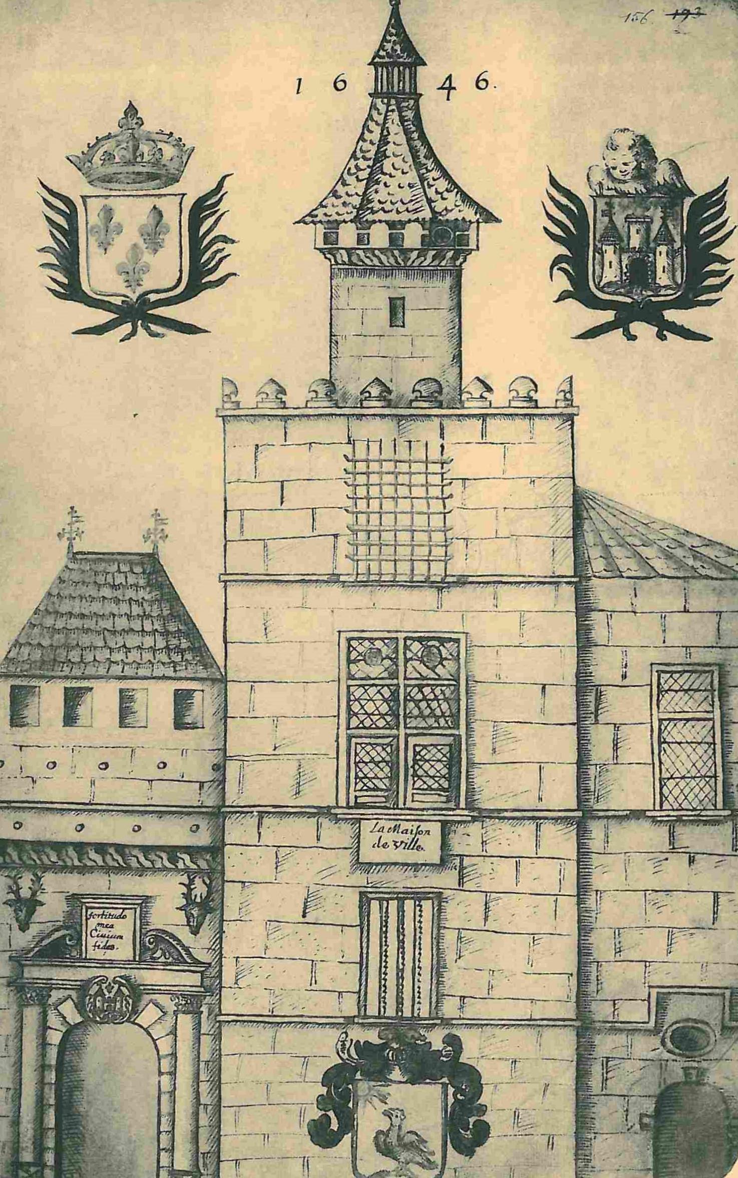 File:Périgueux place du Coderc, Consulat 1646.jpg