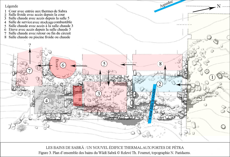 Salle De Bain Avec 2 Entrees file:pétra. plan des thermes de sabra - wikimedia commons