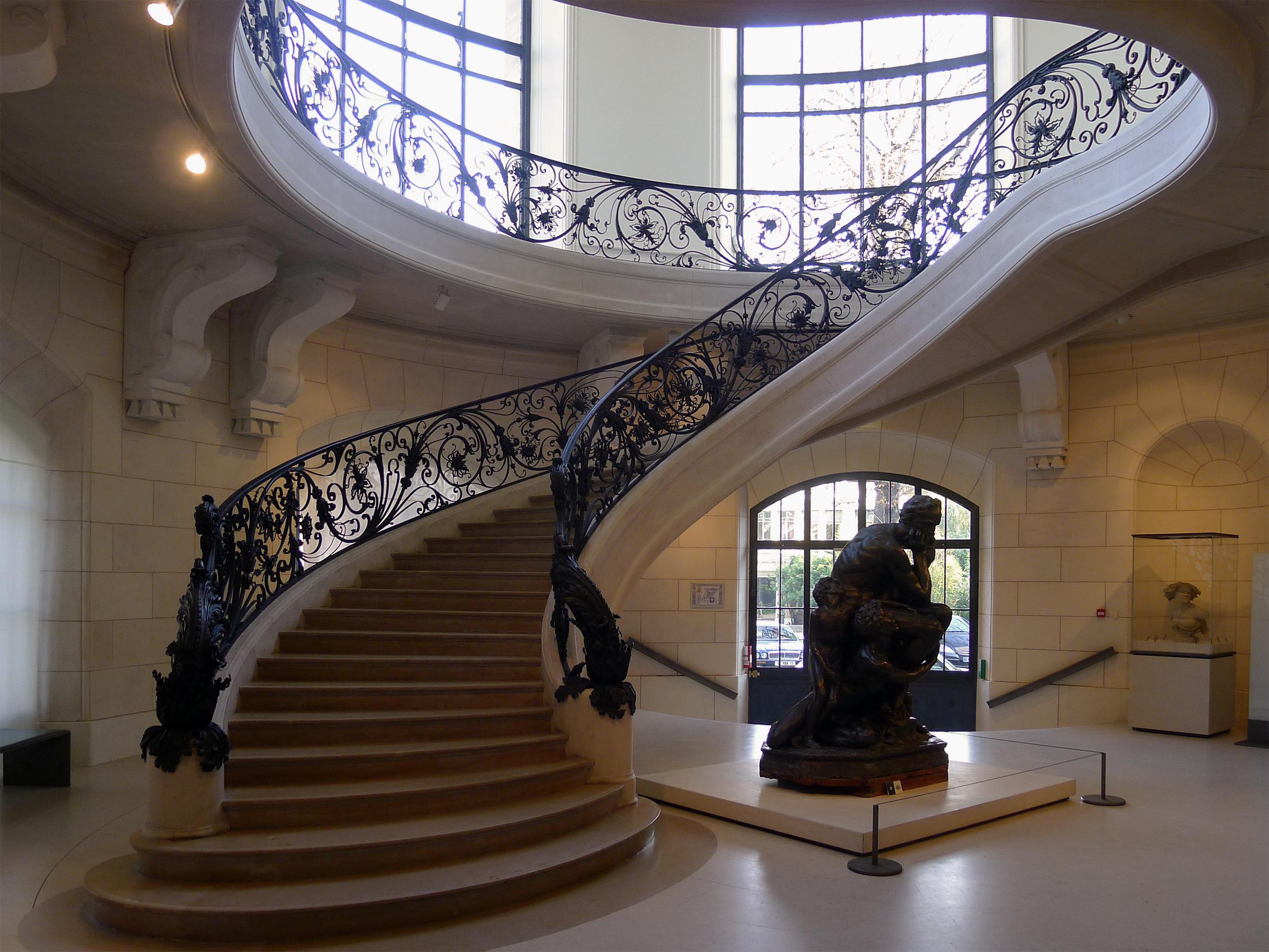file p1130897 paris viii petit palais escalier. Black Bedroom Furniture Sets. Home Design Ideas