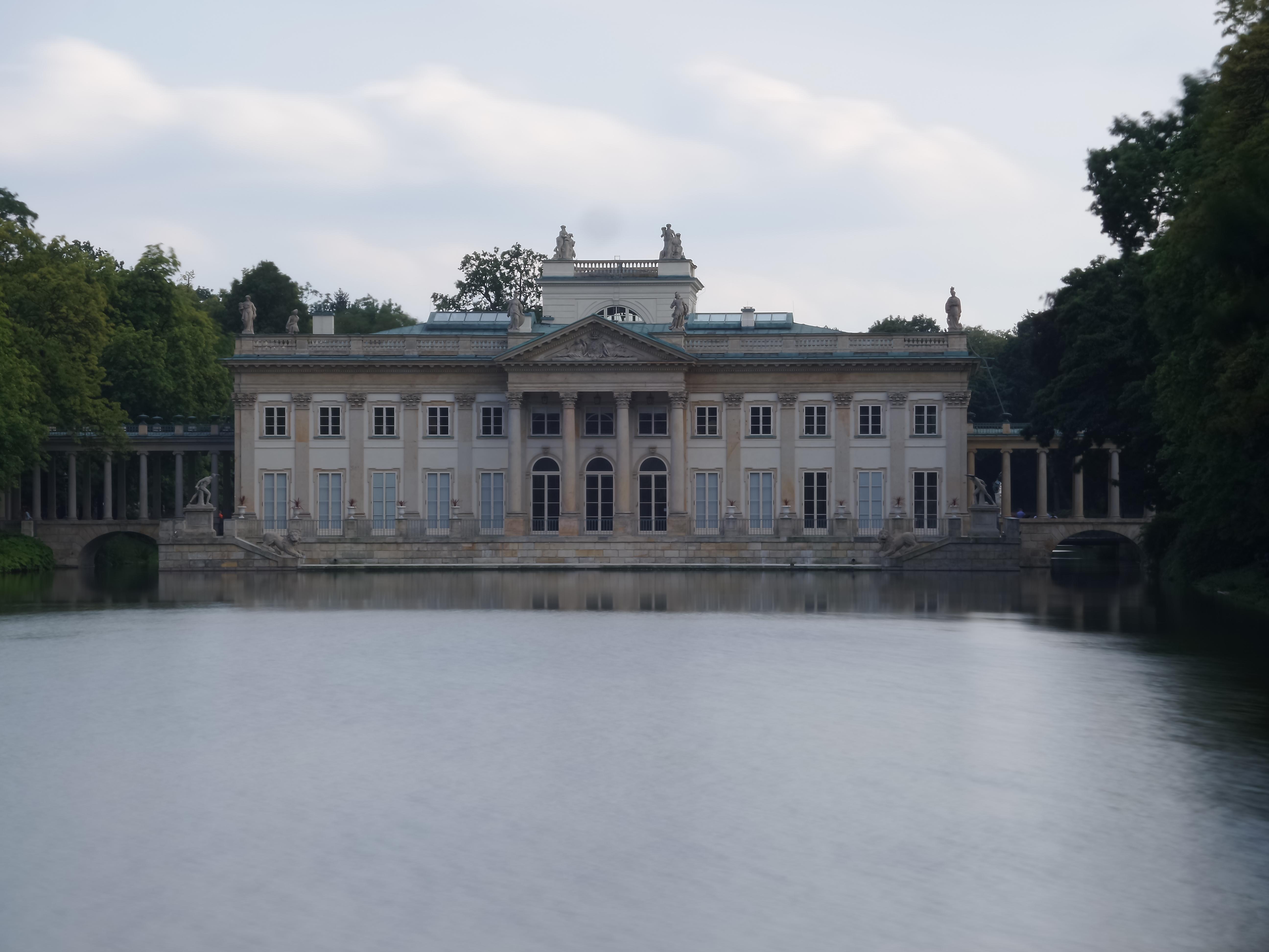 Plikpałac Na Wodzie łazienki Królewskie W Warszawie 2jpg