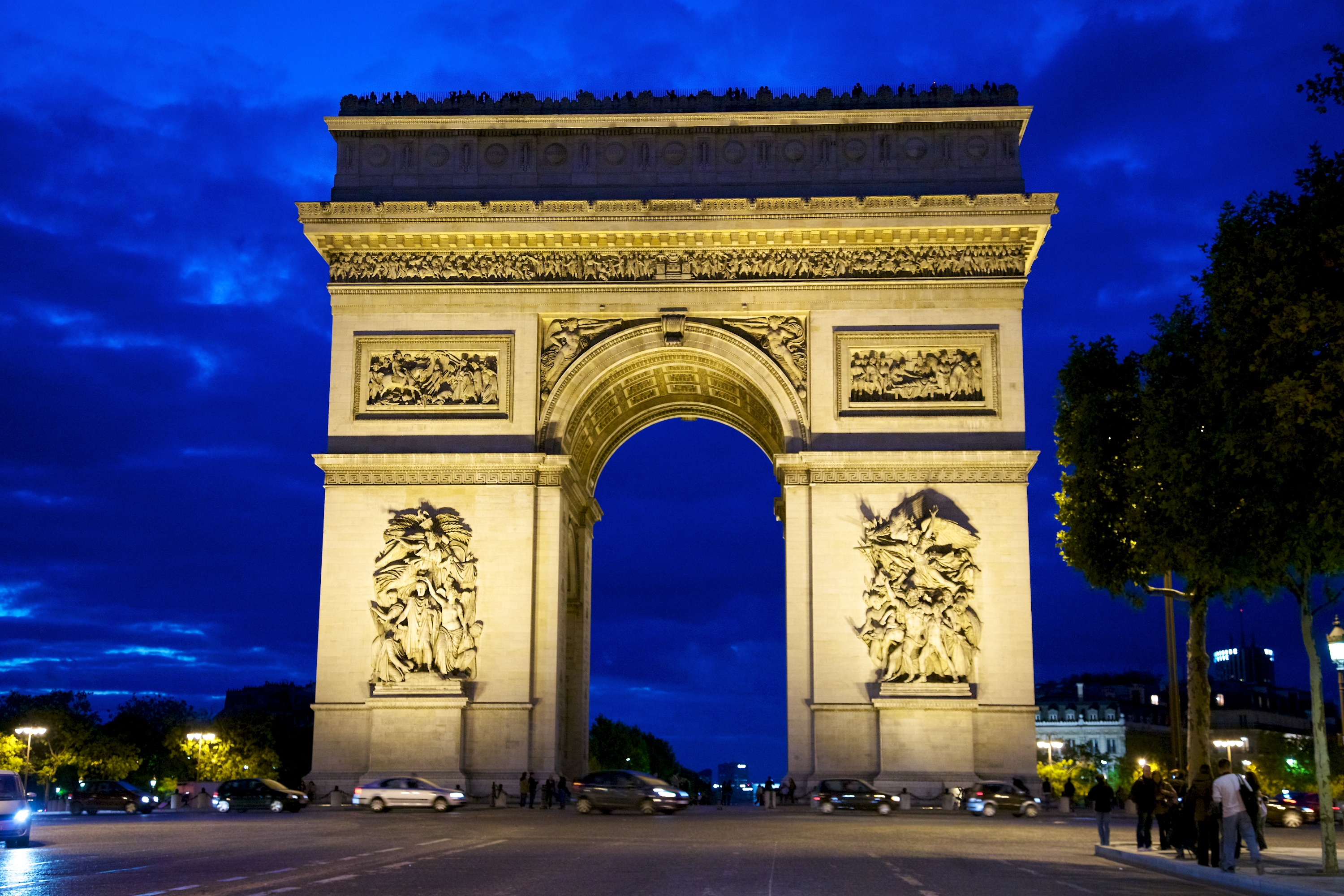 File paris arc de wikimedia commons for Photo de paris
