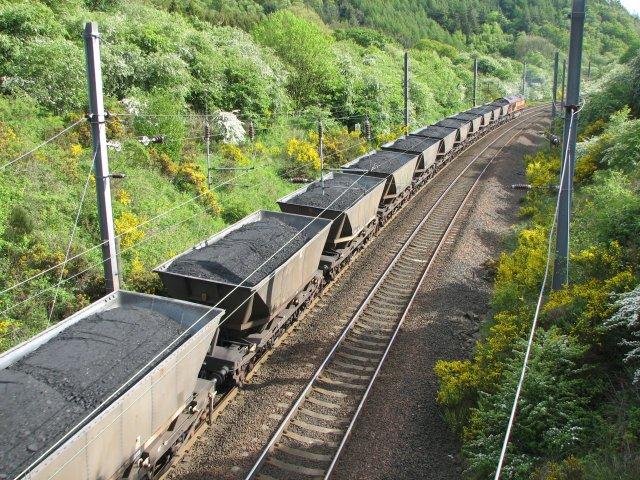 Kereta Pengangkut Batu Bara