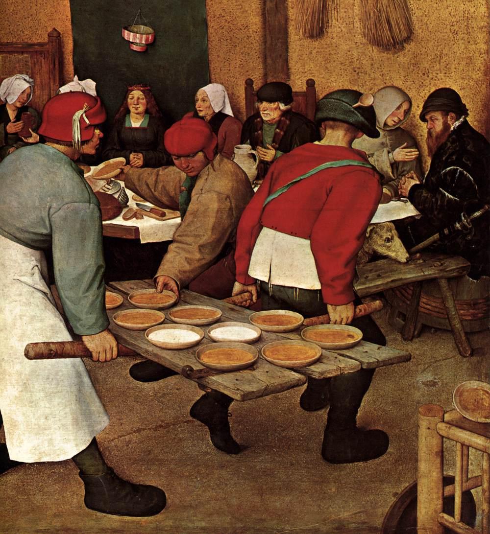File Pieter Bruegel The Elder Peasant Wedding Detail Wga3495 Jpg