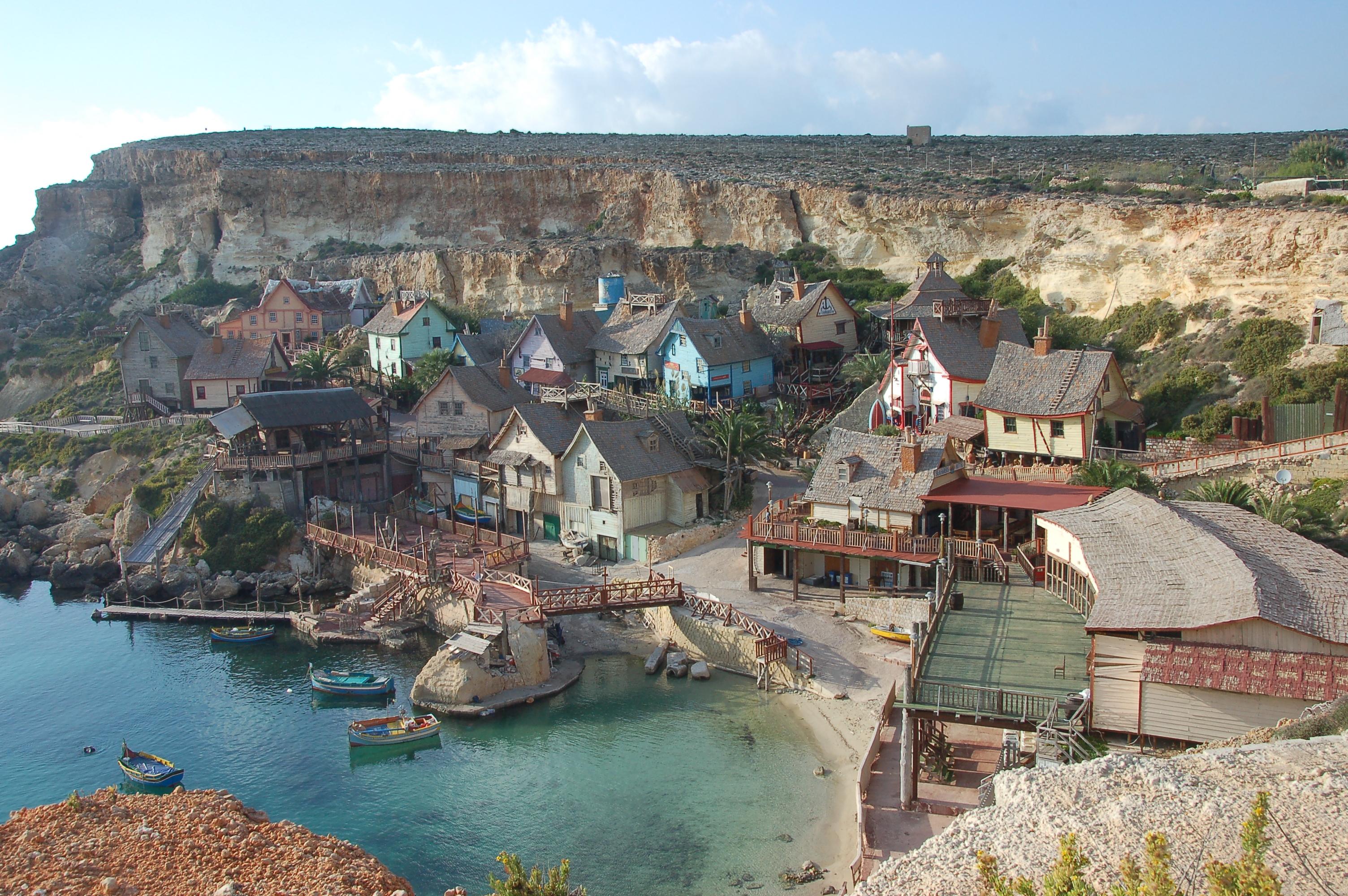 Image result for Popeye's Village in Malta