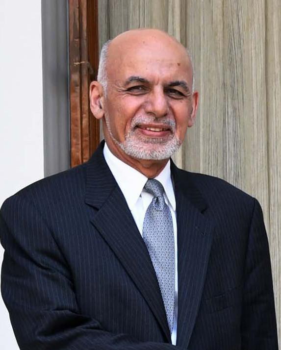 President of Afghanistan, Dr. Mohammad Ashraf Ghani, at Hyderabad House, in New Delhi on September 19, 2018 (cropped).JPG