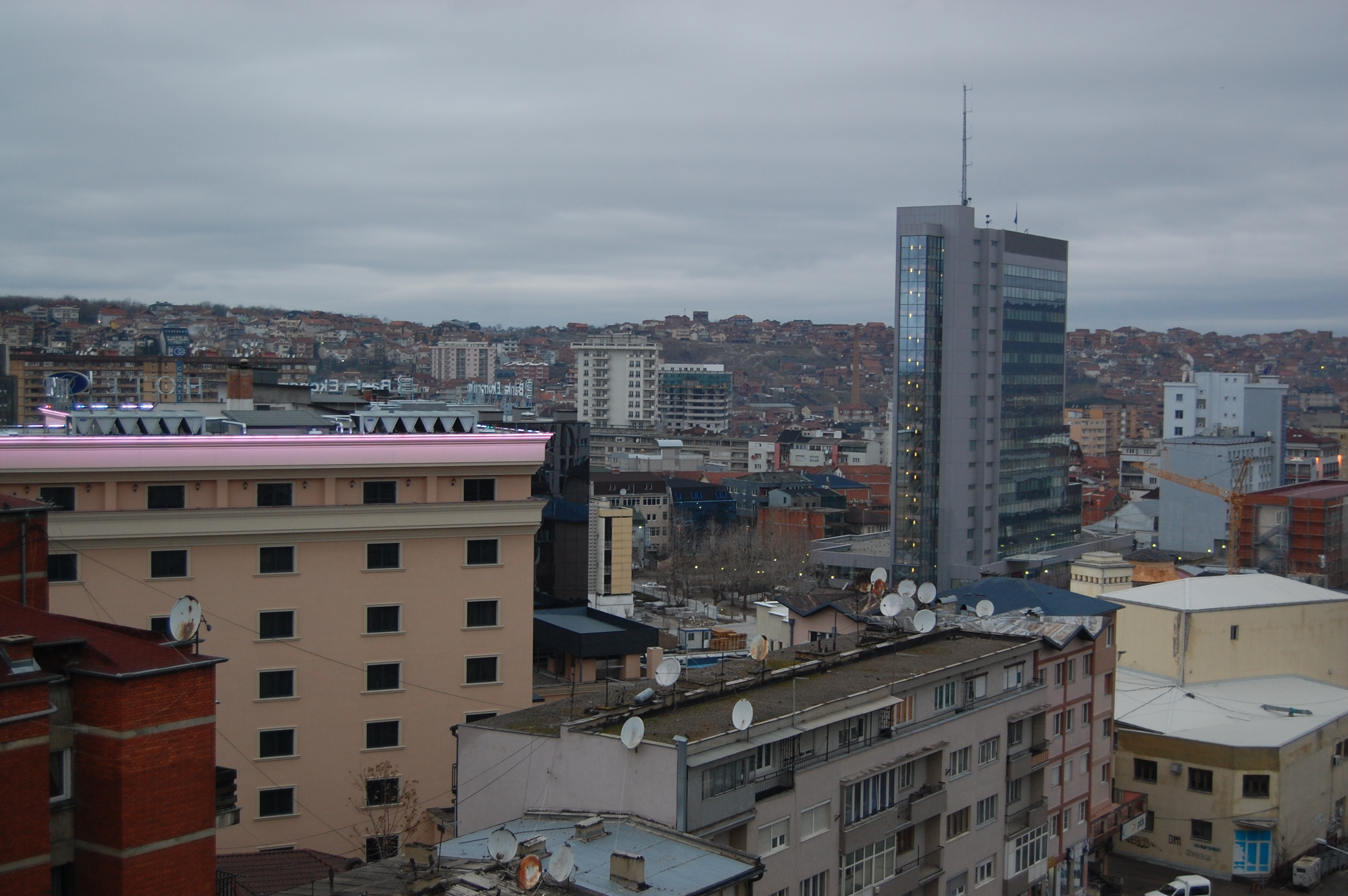 File Pristina From 8th Floor Of Hotel Sirius 23 Jpg