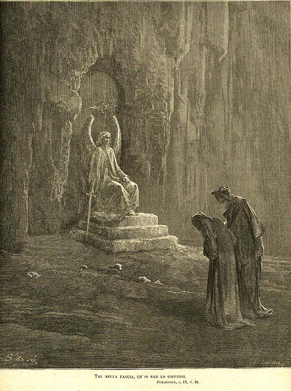 dante's purgatorio summary