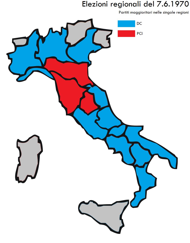 elezioni regionali italiane del 1970 wikipedia