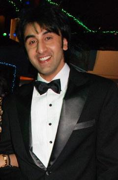 Ranbir Kapoor at the premiere of Saawariya (2007).