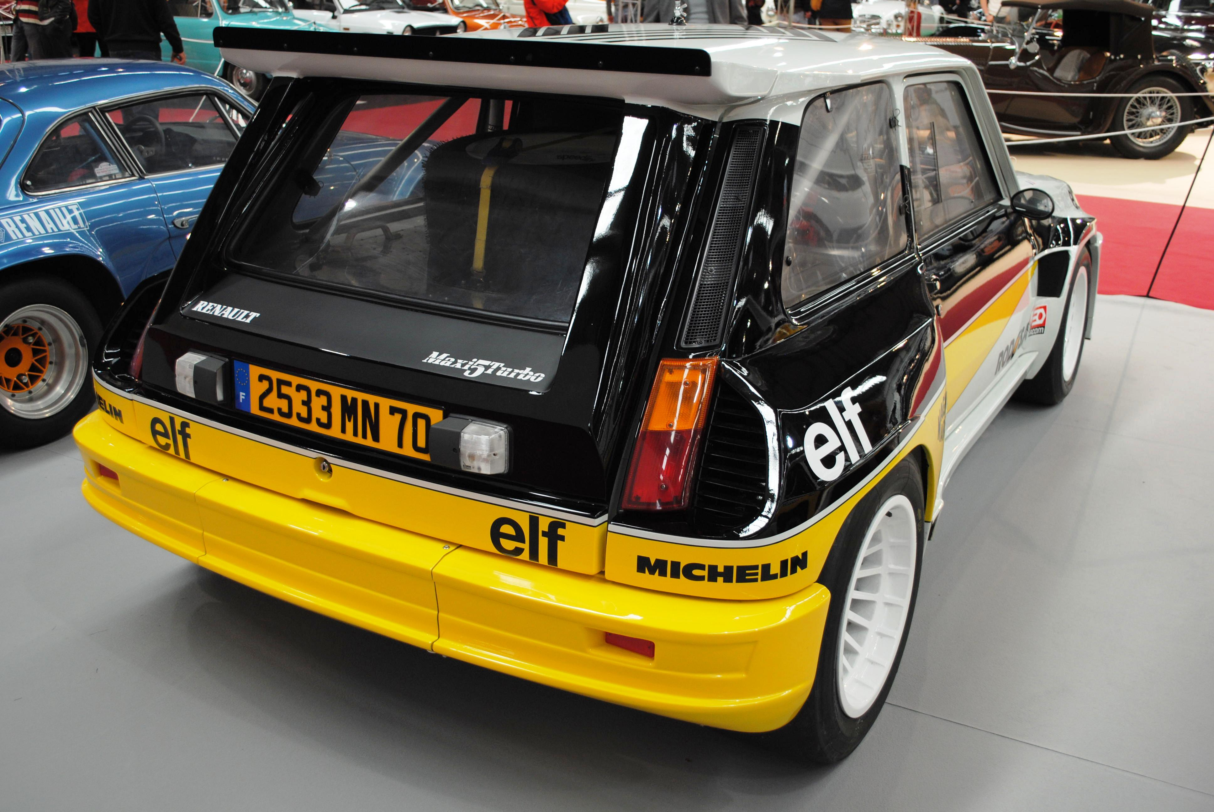 file renault 5 maxi turbo 1984 ifevi 2014 2 jpg wikimedia commons. Black Bedroom Furniture Sets. Home Design Ideas