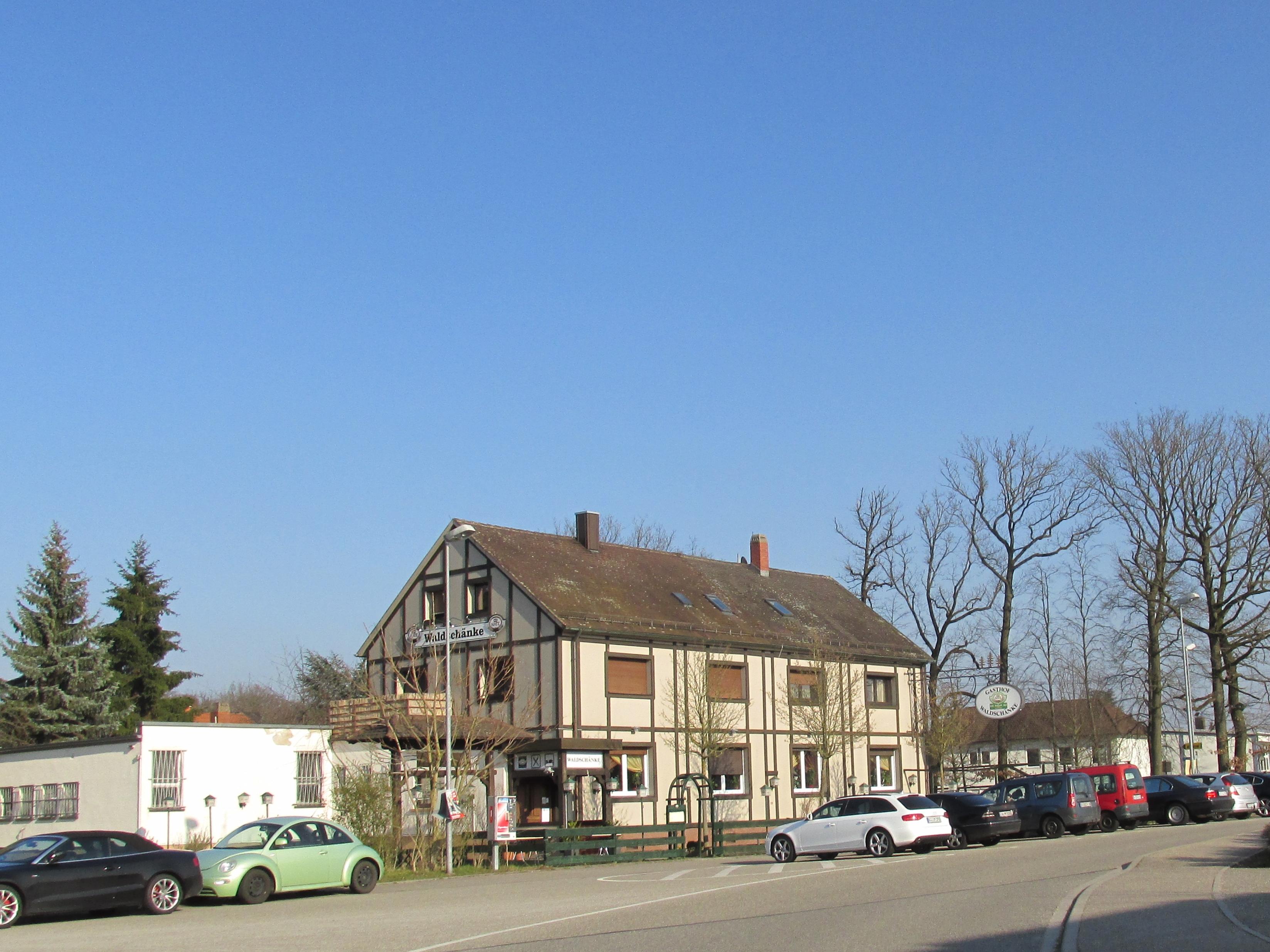 File:Restaurant Waldschänke - Rheinstetten Silberstreifen ...