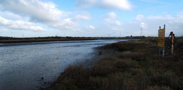 River Crouch Near Battlesbridge - geograph.org.uk - 126055