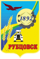 Rubtsovsk coat of arms.png