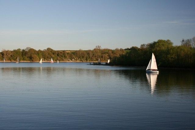 Sailing on Sutton Bingham Reservoir - geograph.org.uk - 406212