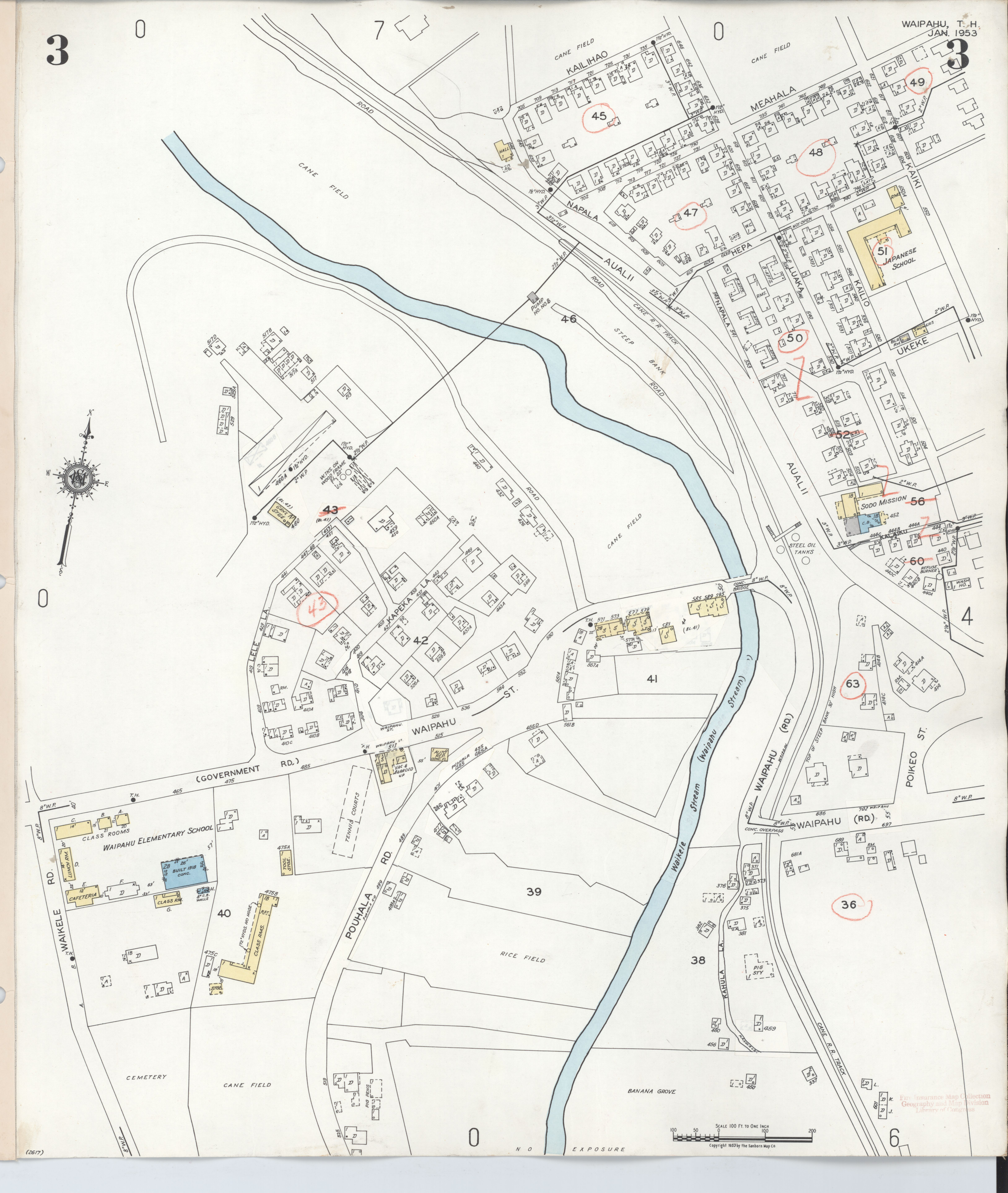 File Sanborn Fire Insurance Map From Waipahu Honolulu County