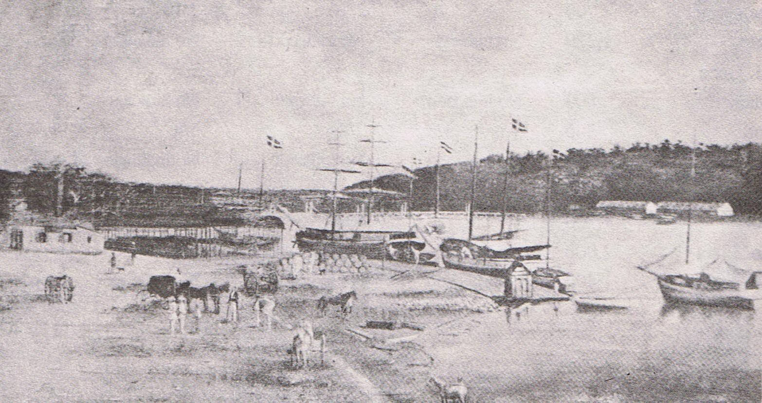 Resultado de imagen para puerto militar de barahona en 1853