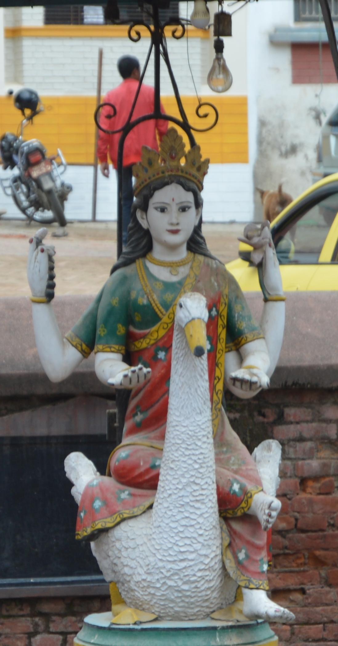 File Saraswati Mata Jpg Wikimedia Commons