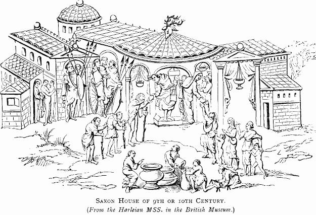 Anglo Saxons Free Coloring Pages