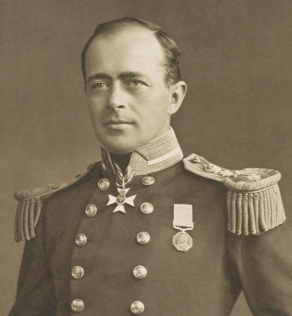 Antarctic Explorer Captain Robert Falcon.