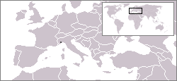 Location of Seborga
