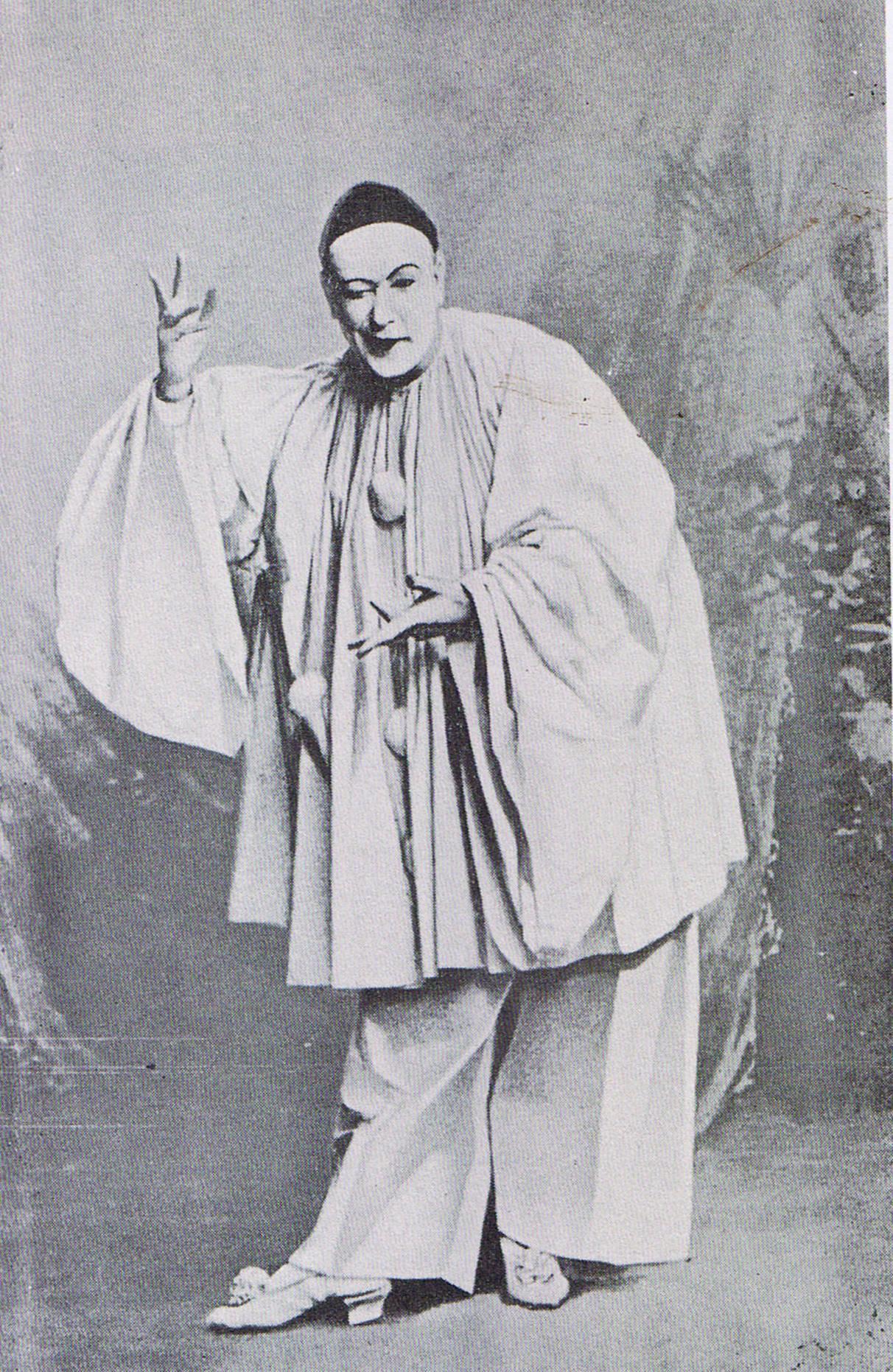 File Severin As Pierrot C 1896 Jpg Wikimedia Commons