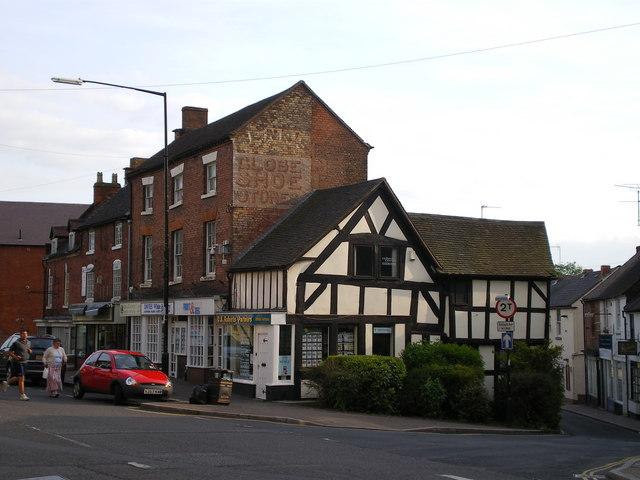 Shops in Shifnal - geograph.org.uk - 810557