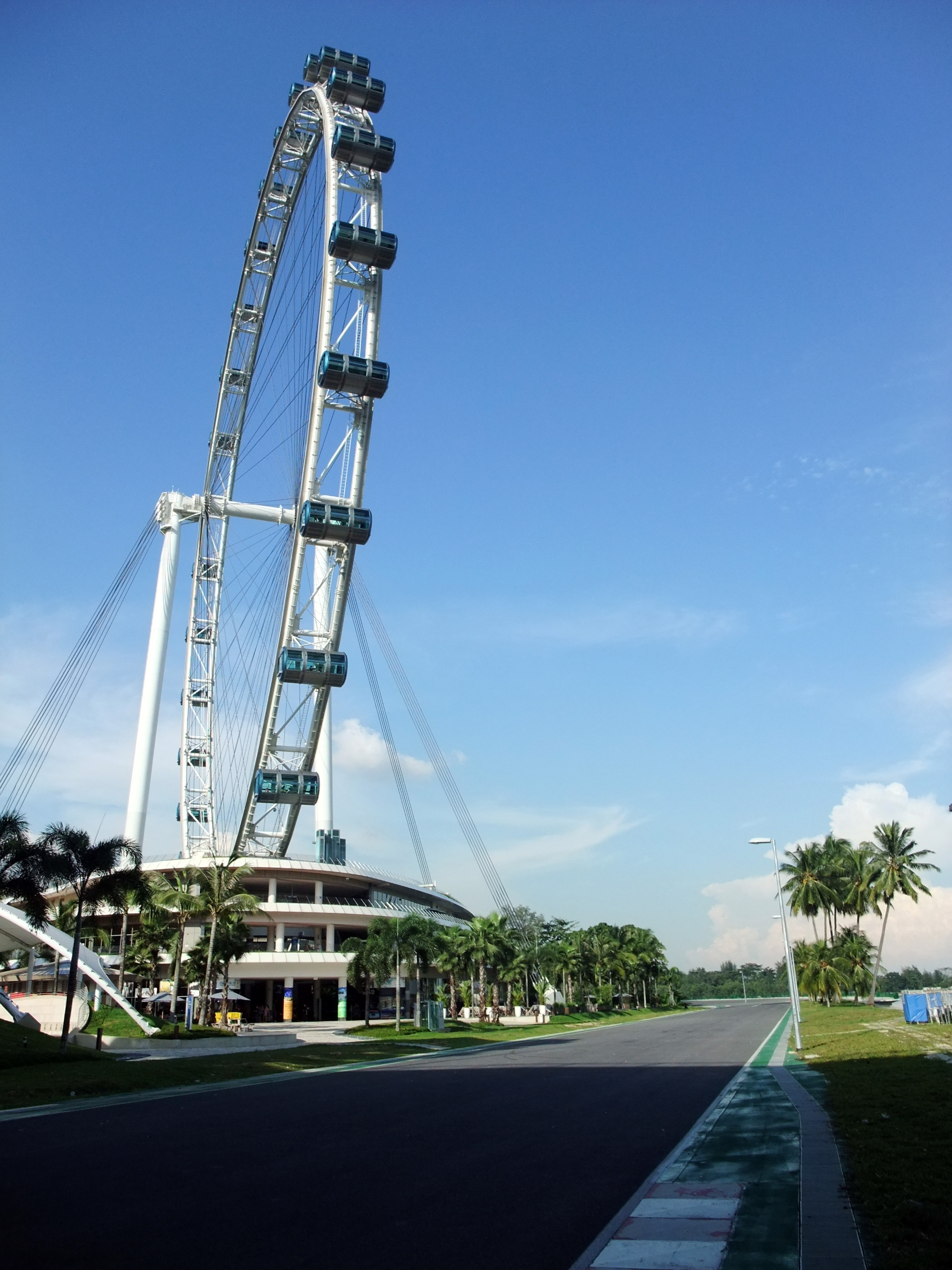 Singapore Flyer and racetrack.JPG