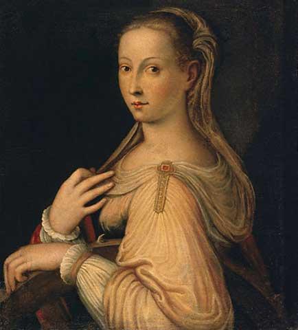 St. Catherine of Alexandria, Barbara Longhi