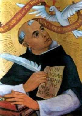 St Thomas d'Aquin (1225-1274)