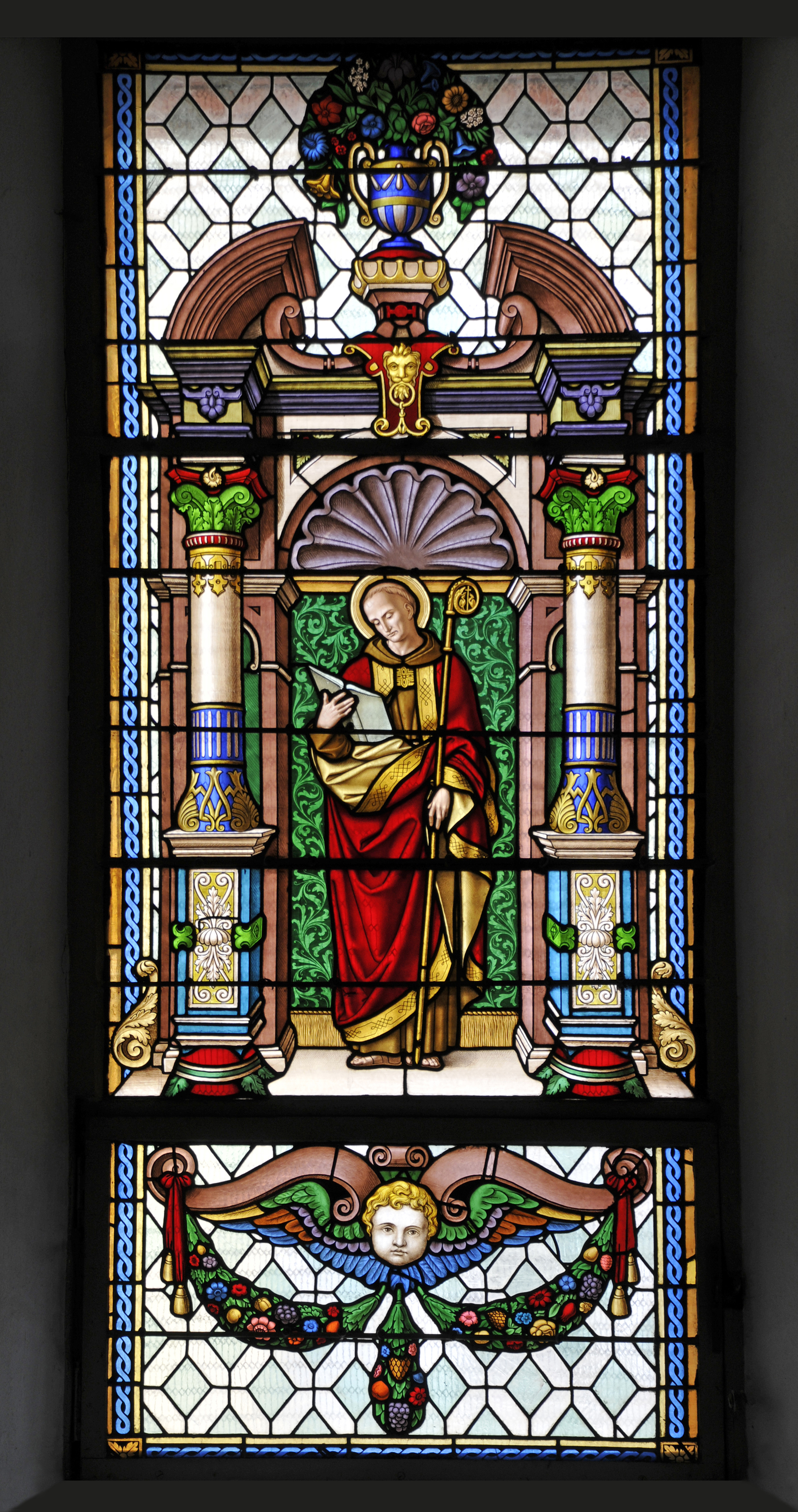 File Stained Glass Window In The Saint Antony Church In St