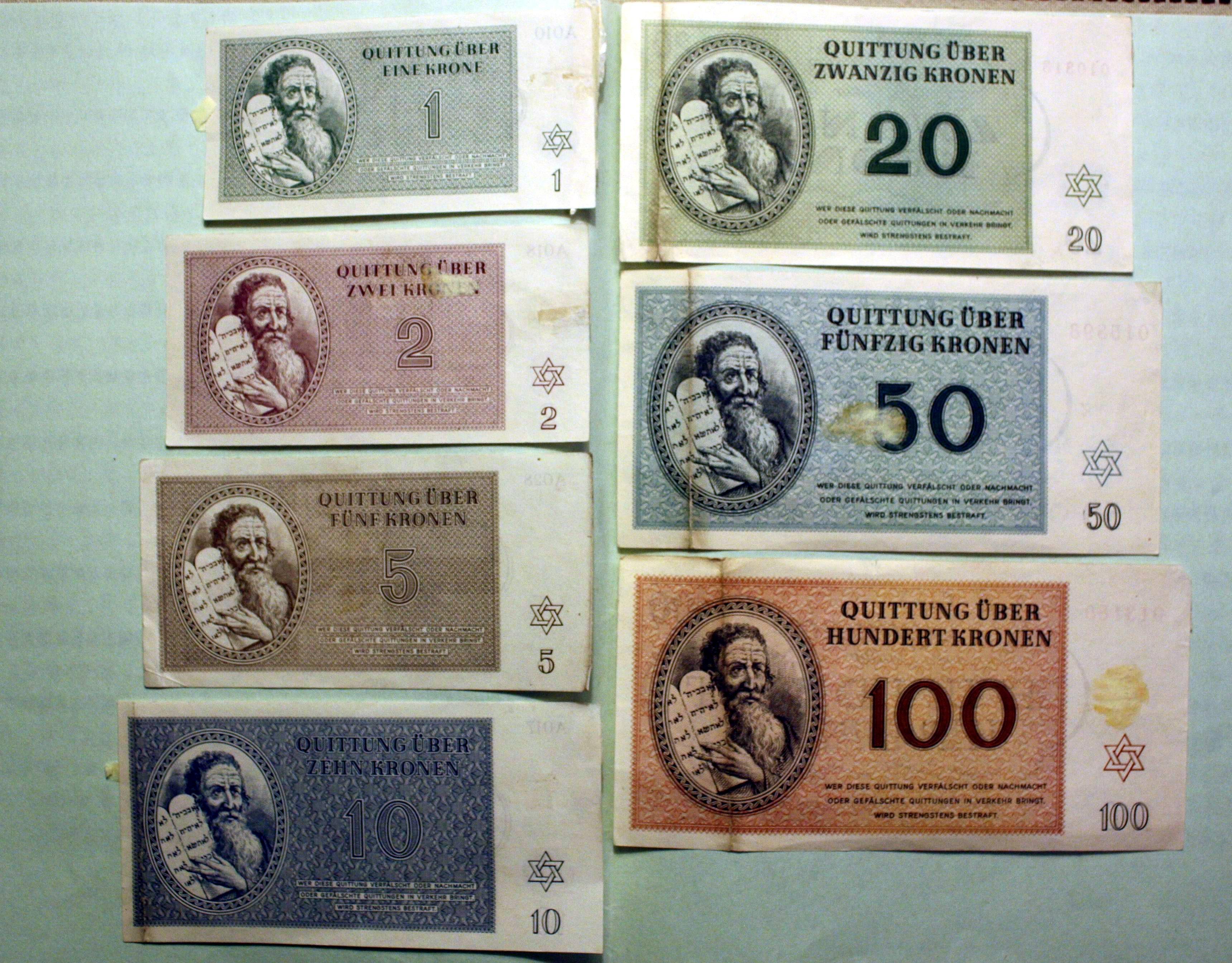 שטרות כסף (מקור: ויקיפדיה)
