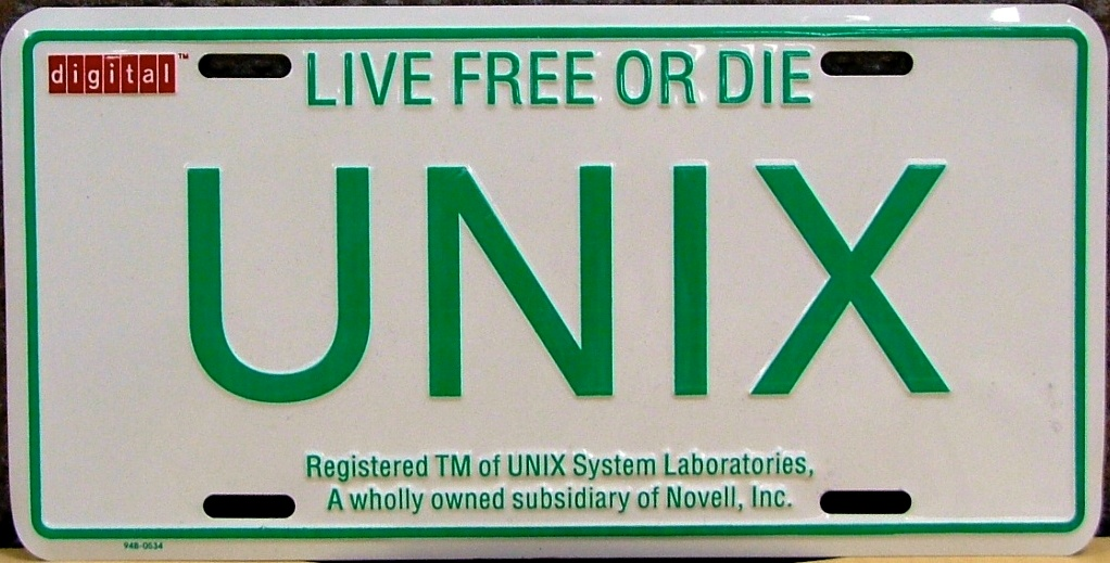 File:UNIX-Licence-Plate.JPG - Wikimedia Commons