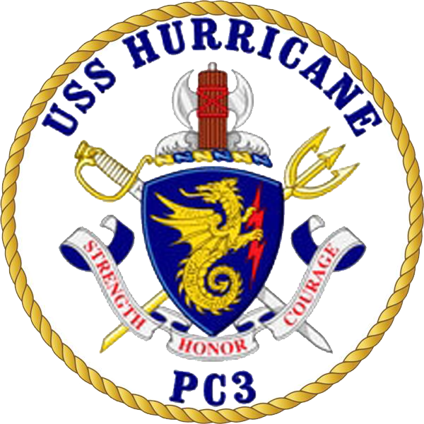 USS Hurricane PC-3 Crest.png