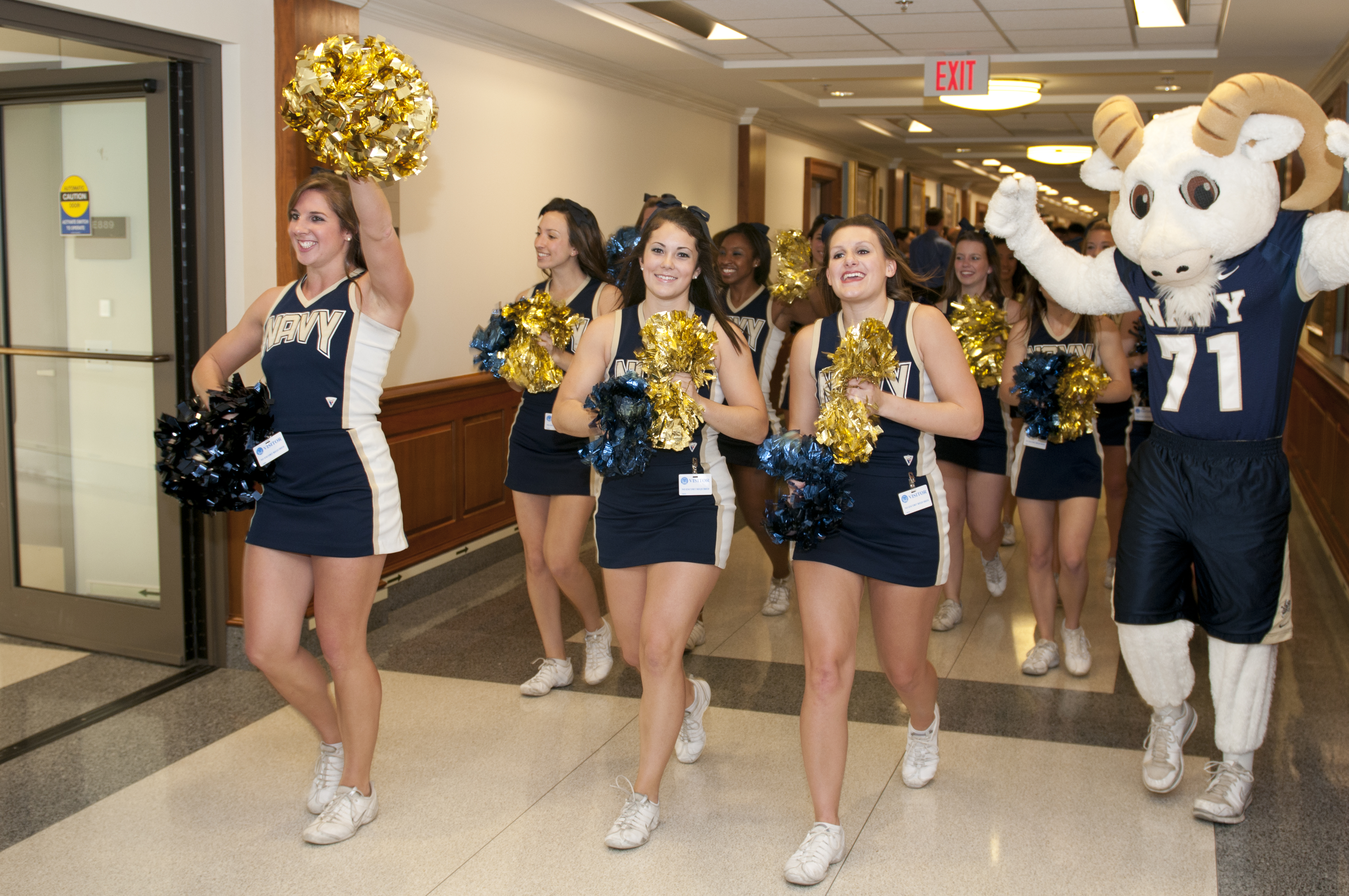 Competitive Cheer :: Navy Spirit - Cheer, Dance and Mascots :: USNA